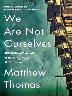 cover image of We Are Not Ourselves
