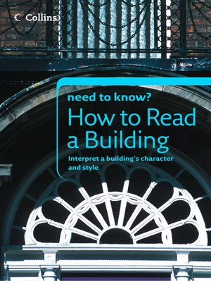 cover image of How to Read a Building