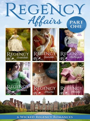 cover image of Regency Affairs Part 1