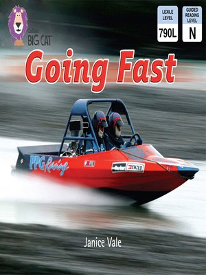 cover image of Collins Big Cat – Going Fast
