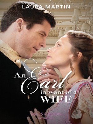 cover image of An Earl In Want of a Wife