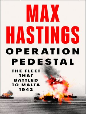 cover image of Operation Pedestal