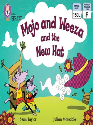 cover image of Collins Big Cat – Mojo and Weeza and the New Hat