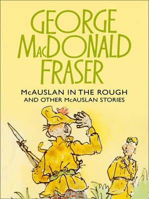 cover image of McAuslan in the Rough