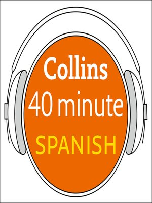 cover image of Spanish in 40 Minutes