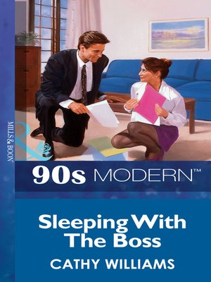 cover image of Sleeping with the Boss