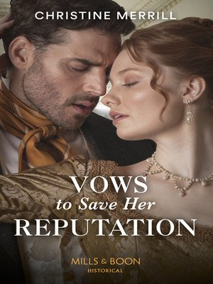 cover image of Vows to Save Her Reputation
