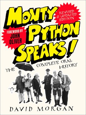 cover image of Monty Python Speaks! Revised and Updated Edition