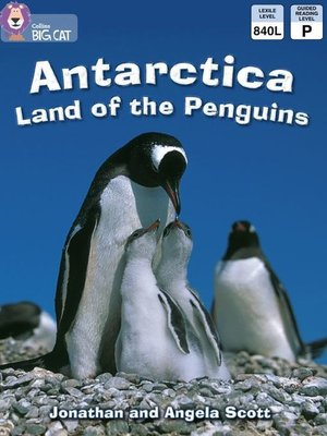 cover image of Collins Big Cat – Antarctica