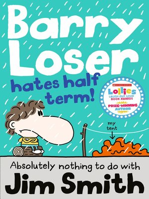 cover image of Barry Loser Hates Half Term