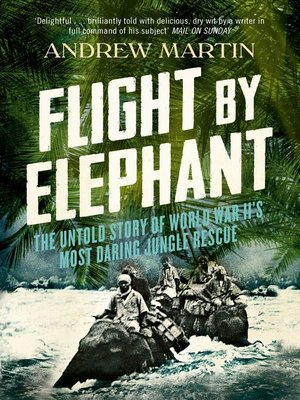 cover image of Flight by Elephant