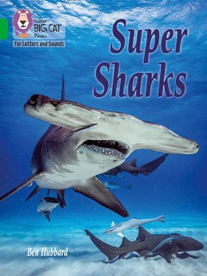 cover image of Collins Big Cat Phonics for Letters and Sounds – Super Sharks