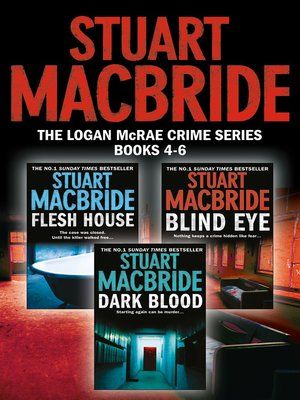 cover image of Logan McRae Crime Series Books 4-6