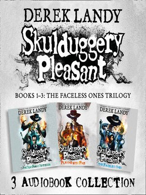 cover image of Skulduggery Pleasant, Audio Collection Books 1-3