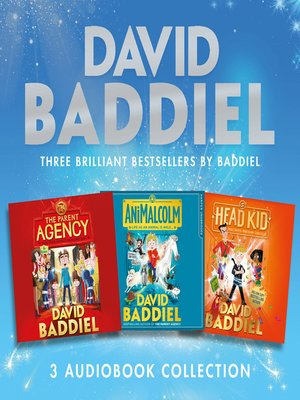 cover image of Brilliant Bestsellers by Baddiel (3-book Audio Collection)