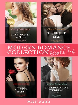 cover image of Modern Romance May 2020 Books 1-4