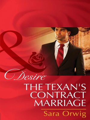cover image of The Texan's Contract Marriage