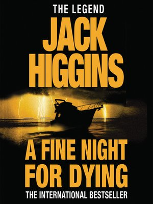 cover image of A Fine Night for Dying