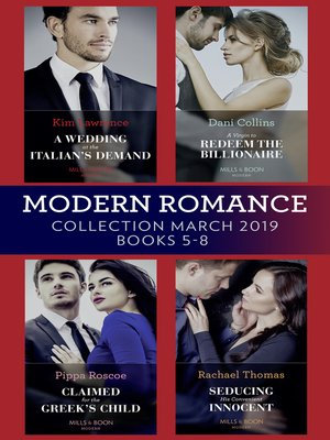 cover image of Modern Romance March 2019 5-8