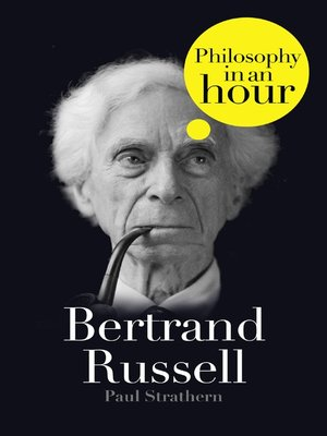 cover image of Bertrand Russell