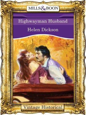 cover image of Highwayman Husband