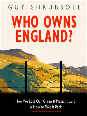 cover image of Who Owns England?