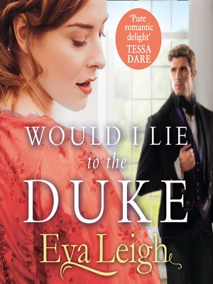 cover image of Would I Lie to the Duke