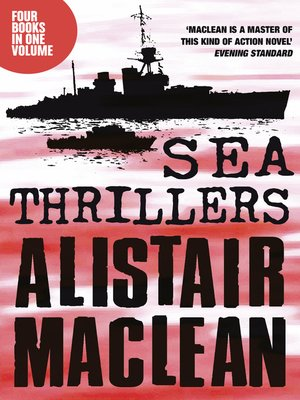 cover image of Alistair MacLean Sea Thrillers 4-Book Collection