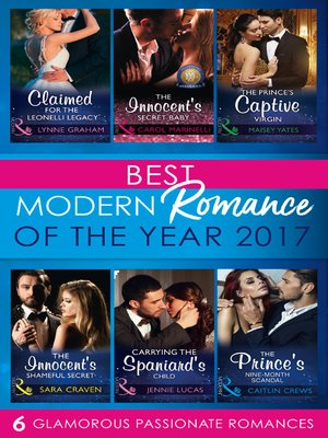 cover image of Best Modern Romances of the Year 2017