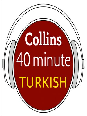 cover image of Turkish in 40 Minutes