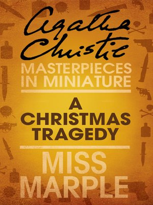cover image of A Christmas Tragedy