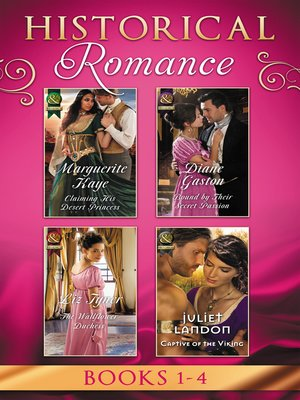 cover image of Historical Romance April Books 1--4