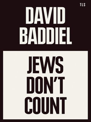 cover image of Jews Don't Count