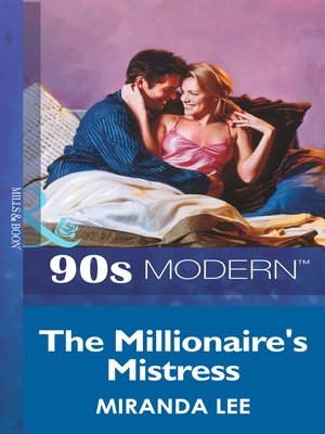 cover image of The Millionaire's Mistress