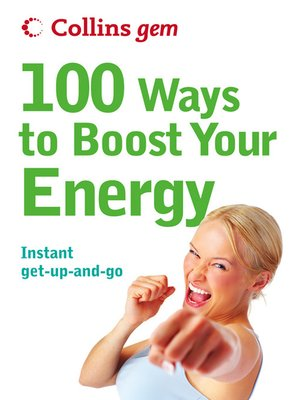 cover image of 100 Ways to Boost Your Energy