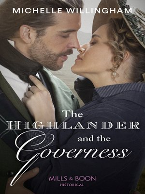 cover image of The Highlander and the Governess