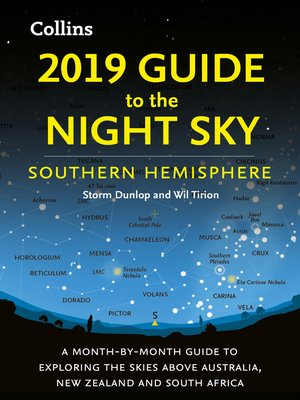 cover image of 2019 Guide to the Night Sky Southern Hemisphere