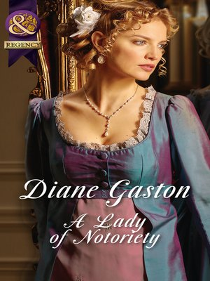 cover image of A Lady of Notoriety
