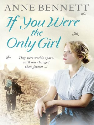 cover image of If You Were the Only Girl