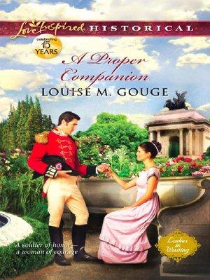 cover image of A Proper Companion