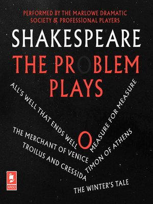 cover image of Shakespeare, The Problem Plays