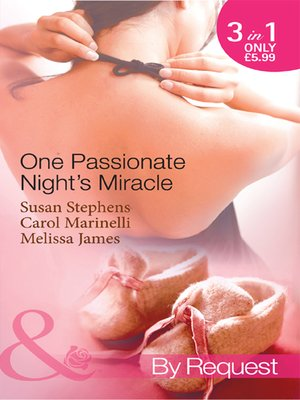 cover image of One Passionate Night's Miracle