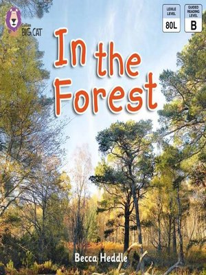cover image of Collins Big Cat – In the Forest