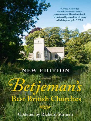 cover image of Betjeman's Best British Churches