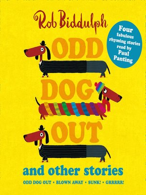 cover image of Odd Dog Out and Other Stories