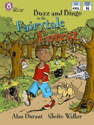 cover image of Collins Big Cat – Buzz and Bingo in the Fairytale Forest