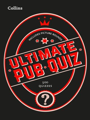 cover image of Collins Ultimate Pub Quiz