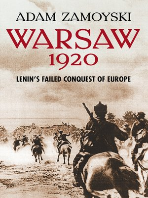 cover image of Warsaw 1920