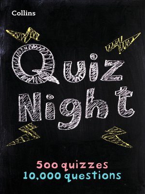 cover image of Collins Quiz Night
