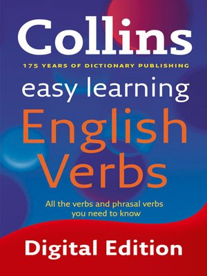 cover image of Easy Learning English Verbs